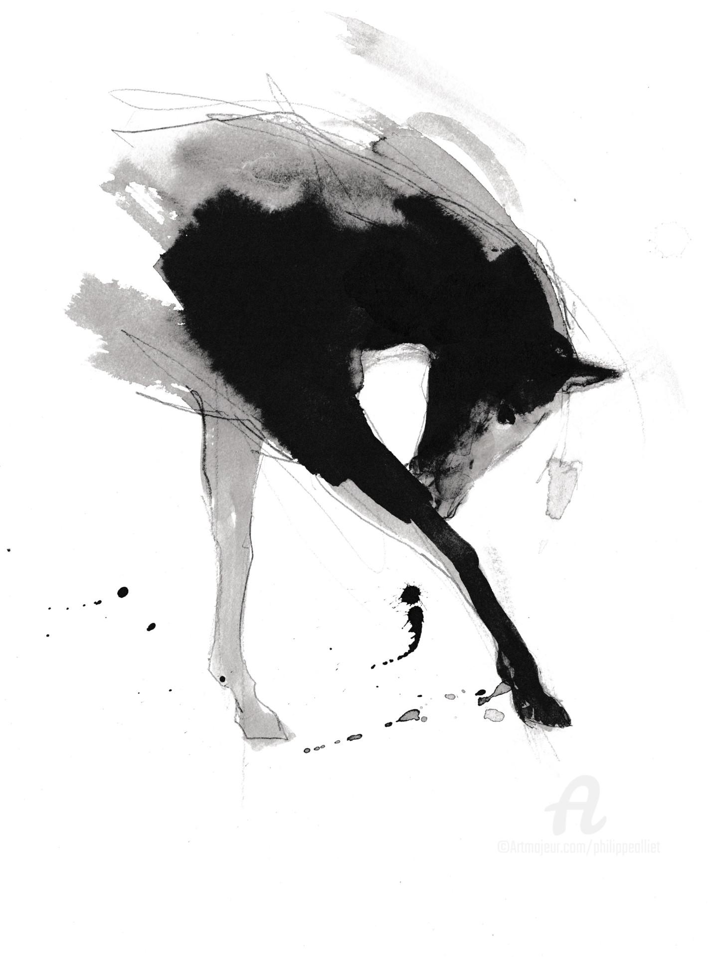 Philippe ALLIET - Cheval rétif 019