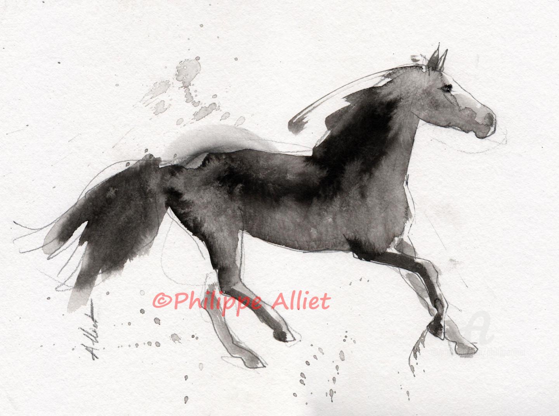 Philippe ALLIET - Cheval rétif 022