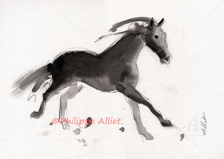 Philippe ALLIET - Cheval rétif 023