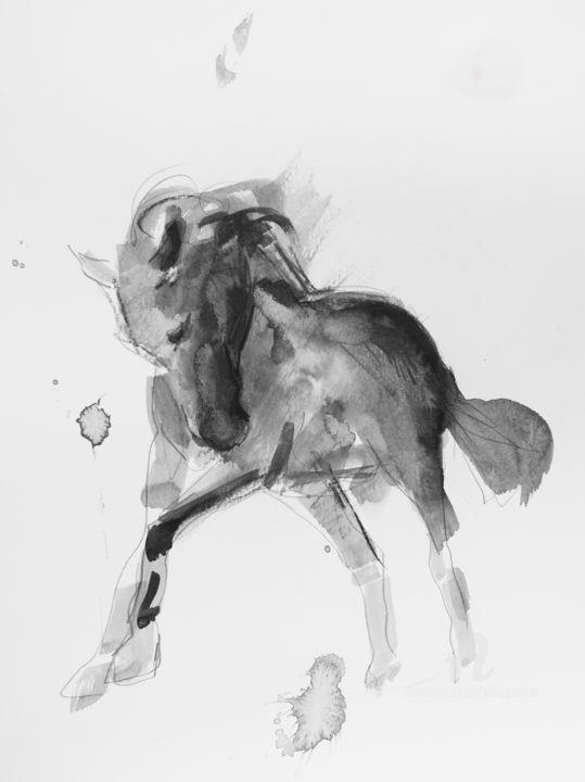 Cheval rétif 002