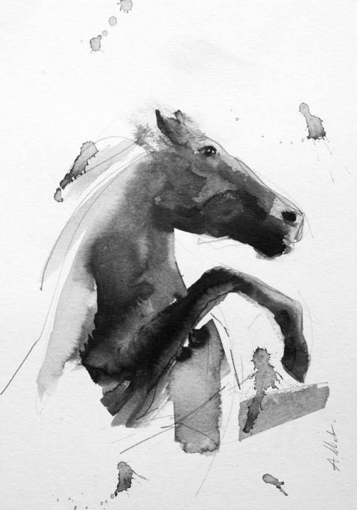 Cheval rétif 008