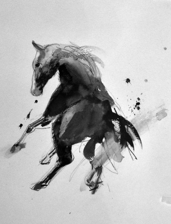 Cheval rétif 014