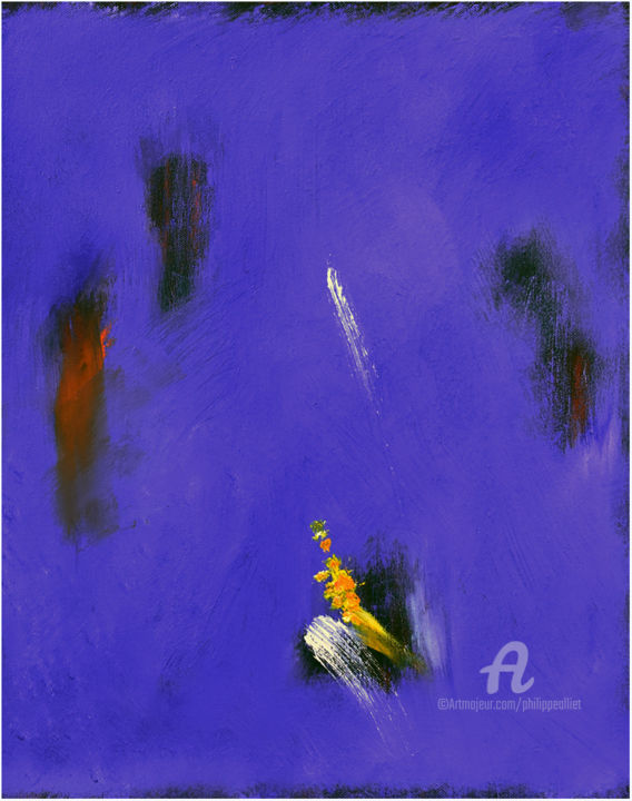 Abstraction bleue 006
