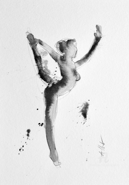 Dancing nude 008