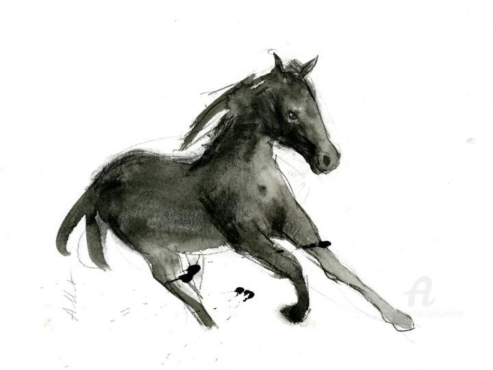 Philippe ALLIET - Cheval rétif 024