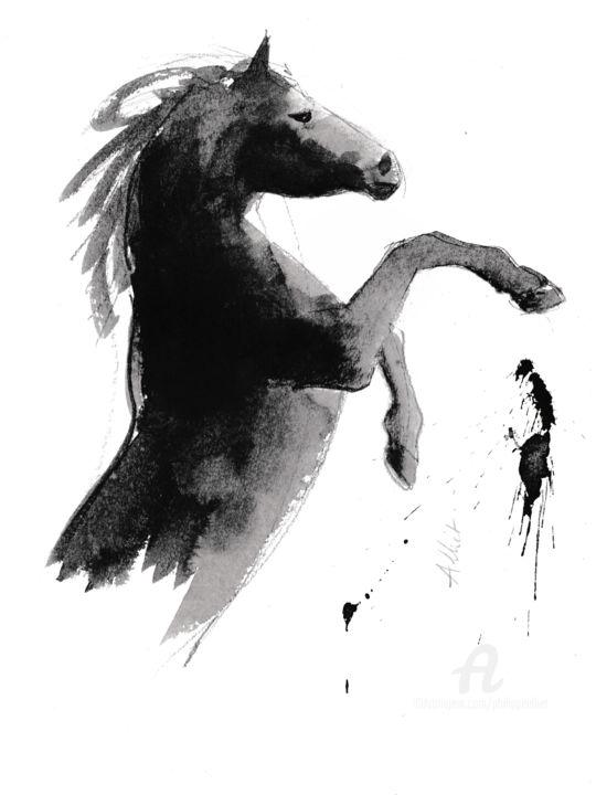 Cheval rétif 026 (wild horse)