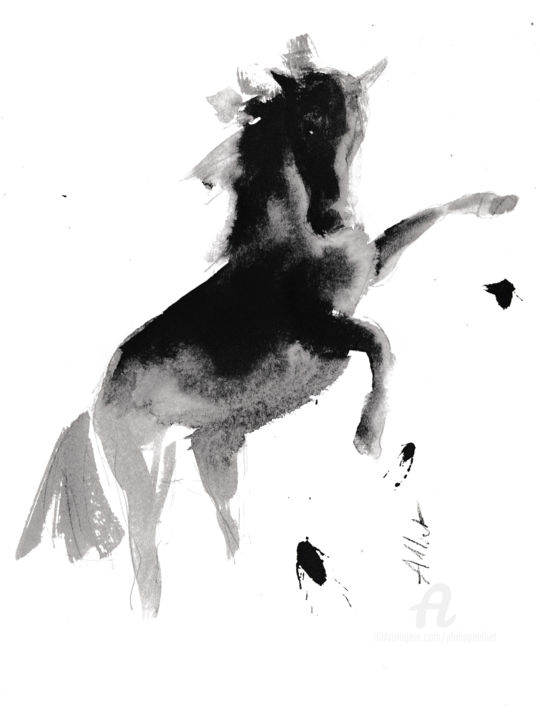 Philippe ALLIET - Cheval rétif 028