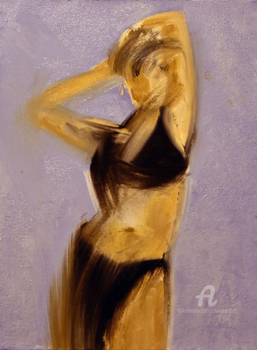 Philippe ALLIET - Femme en maillot noir