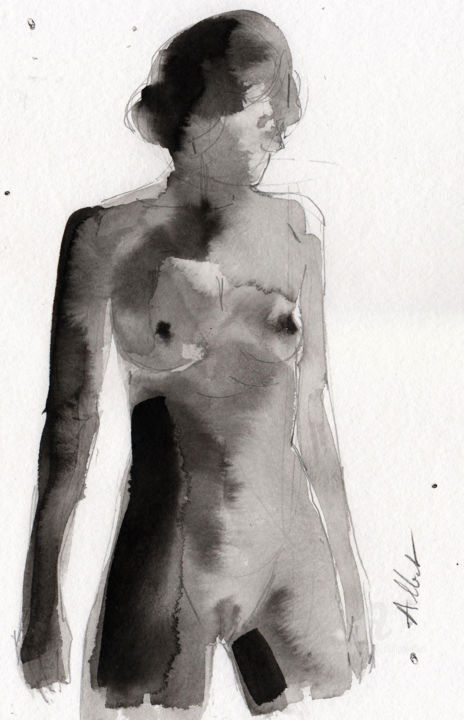 Philippe ALLIET - Buste féminin