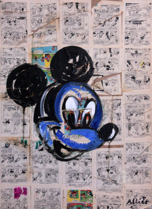 2012-Mickey bleu