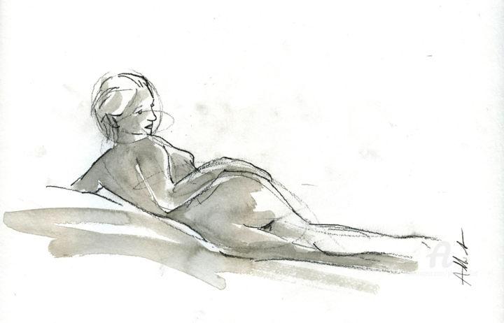Recline nude-2019